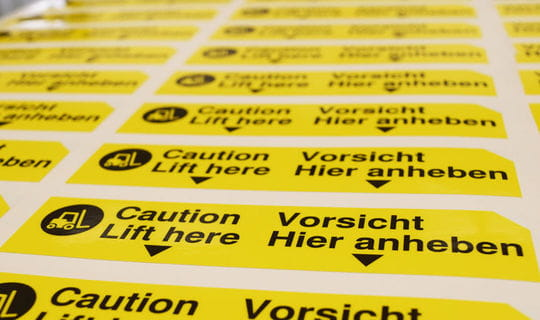 Digitaldruck - Stickerbogen